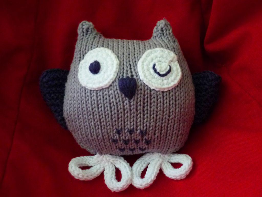 Coucou le hibou coccinette - Animaux en tricot facile ...
