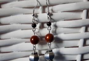 Boucles d'oreille cuivres - bijoux