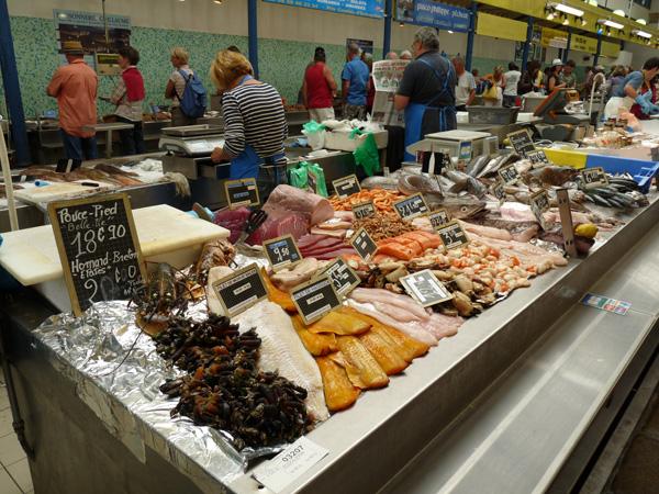 Marché de Vannes - Les halles aux poissons
