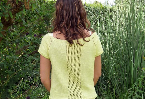 [Knit Test] Top summer