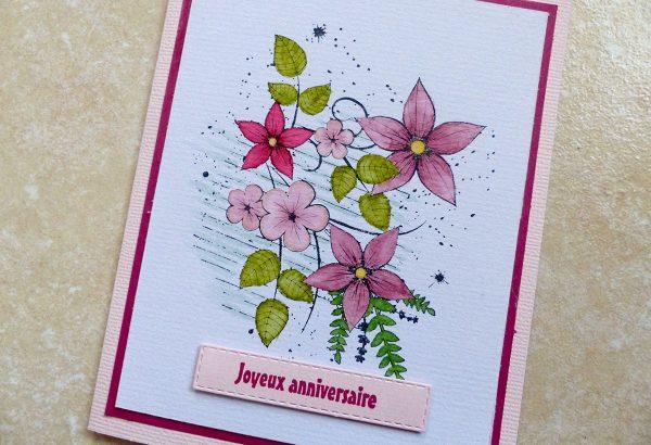 Carte Jolies Fleurs