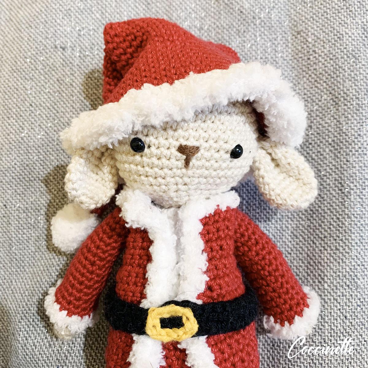 Philibert avec son bonnet de Noël