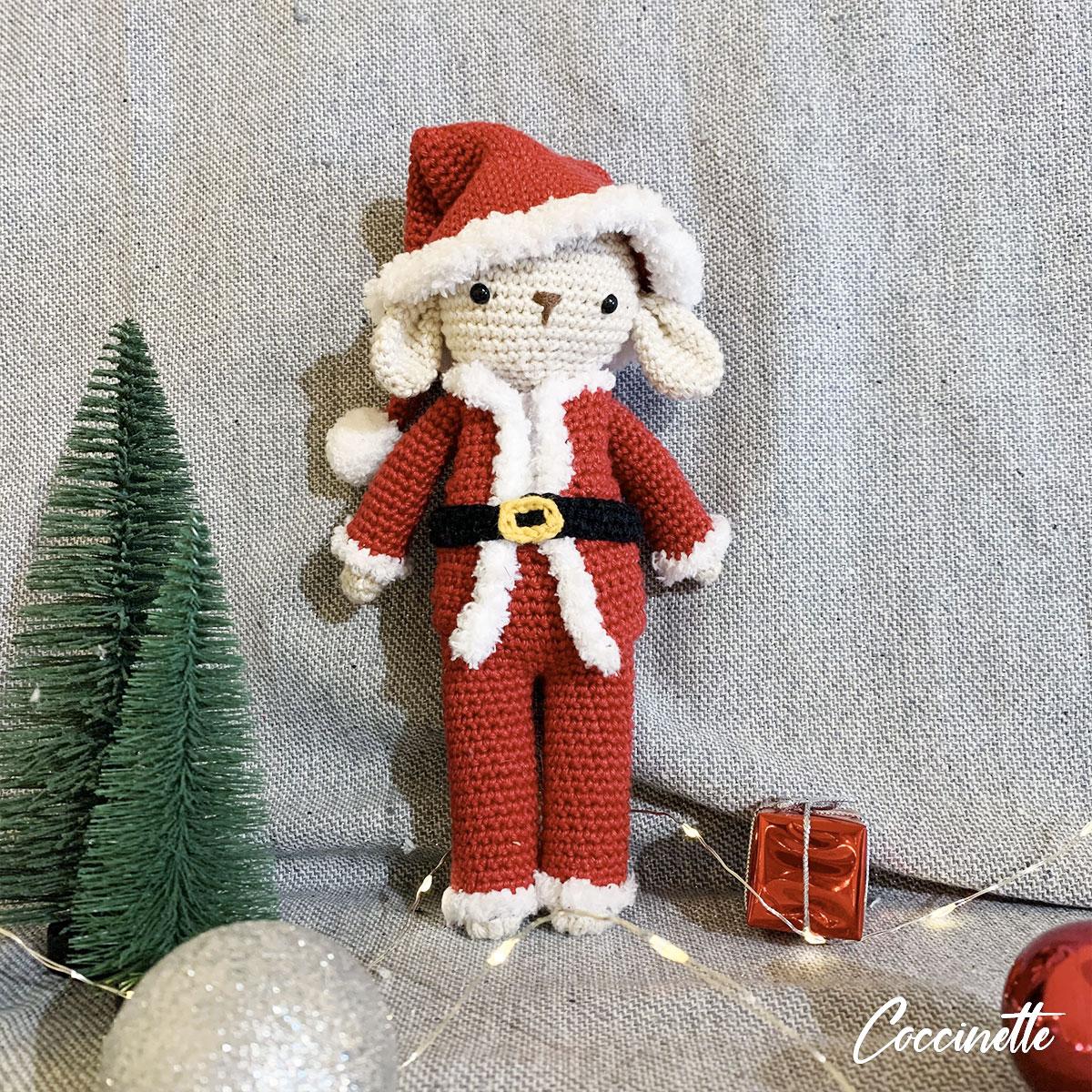 Philibert en tenue de Noël