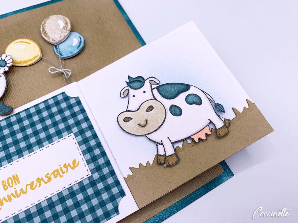 vache debout